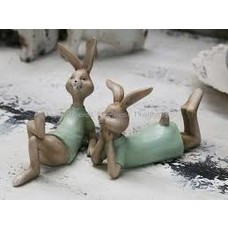 Chic Antique Vintage Osterhase Set