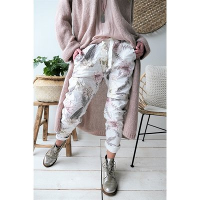 Bypias Perfect Jogger, Floral Rosa
