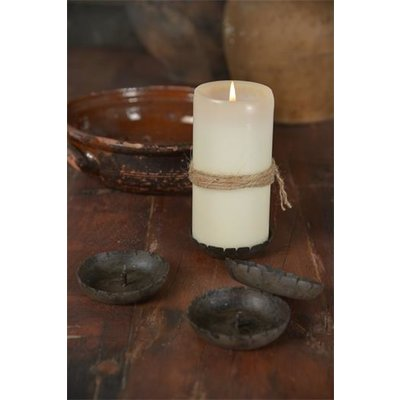 Jeanne d'Arc Living Candle holder, Rust finnish