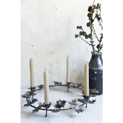 Jeanne d'Arc Living Advent wreath for table