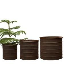 Ragna  Pot in 3 Größen, Rost