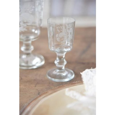 Jeanne d'Arc Living Wine Glass- Heartsease von Jeanne d'Arc Living