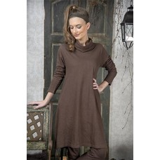 Jeanne d'Arc Living Dress- Cosy living- Dark brown