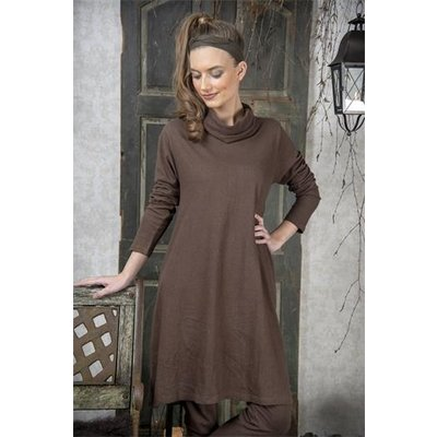 Jeanne d'Arc Living Dress- Cosy living- Dark brown in XS/S und M/L