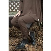 Jeanne d'Arc Living Leggings- Cosy living, dark brown, Größe S