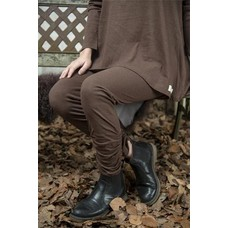 Jeanne d'Arc Living Leggings- Cosy living, dark brown