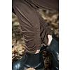 Jeanne d'Arc Living Leggings- Cosy living, dark brown, Größe S