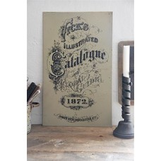 Jeanne d'Arc Living Metal sign-Catalogne-Dark