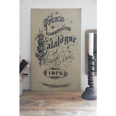 Jeanne d'Arc Living Metal sign-Catalogne-Dark