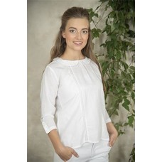 Jeanne d'Arc Living Blouse- Karin-White-S