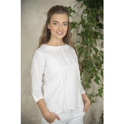 Jeanne d'Arc Living Blouse- Karin-White-S von Jeanne d'Arc Living