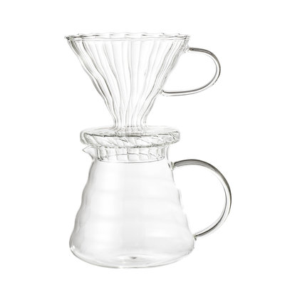 Coffe Drip Pot, Clear, Glass von Bloomingville