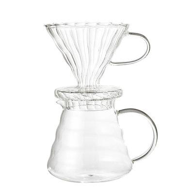 Coffe Drip Pot, Clear, Glass von Bloomingville