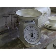Chic Antique Französische Küchenwaage, Antique