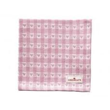 Greengate Napkin Heart petit pale pink