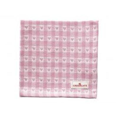 Greengate Napkin Heart petit pale pink von Greengate
