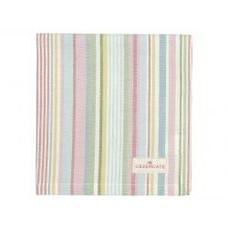 Greengate Napkin Pipa soft stripe
