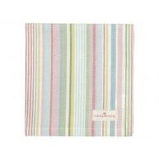 Greengate Napkin Pipa soft stripe