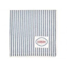 Greengate Napkin with lace Alice stripe blue