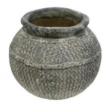 Vase aus Zement