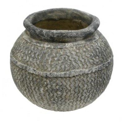 Vase aus Zement, winterfest, nur 28,75