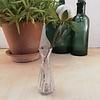 Madleys Pearl Hyacinthen Vase in dunkelgrün oder clear