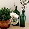 Madleys half round vase von Madleys