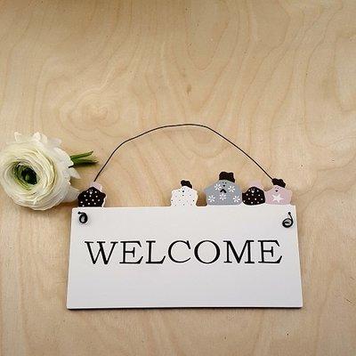 Madleys Welcome- Schild von Madleys