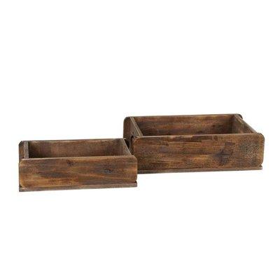 Holzkiste groß oder klein