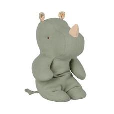 Maileg Safari friends Small rhino, Dusty green