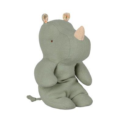 Maileg Safari friends Small rhino, Dusty green von Maileg - Copy
