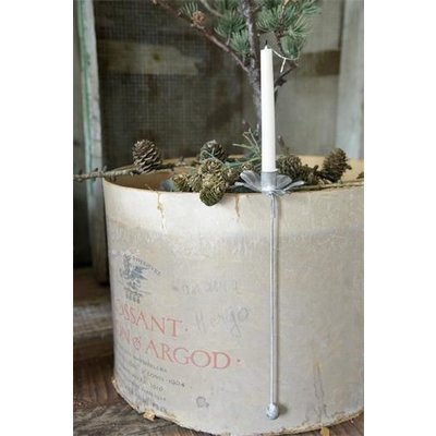 Jeanne d'Arc Living Candle holder, Hanging Zink von Jeanne d'Arc Living