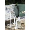 IB Laursen Kerzenhalter für dünne Kerzen, Zink oder weiß von IB Laursen