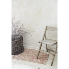 Jeanne d'Arc Living Carpet, Creame/ dusty rose