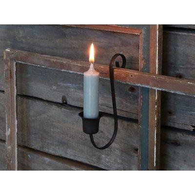 Chic Antique Altfranz. Kerzenhalter für Stabkerzen, Antique Kohle