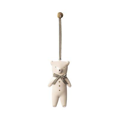 Maileg Metall Ornament, Teddybär