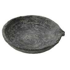 Schale mit Ablaufrinne, Zement