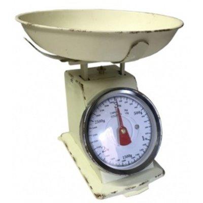 Küchenwaage, Beige, bis 3kg