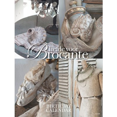 Geburtstagskalender liefde voor Brocante