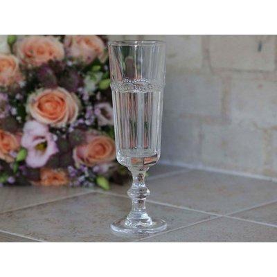 Chic Antique Champagnerglas mit Perlenkante, Antoinette von Chic Antique