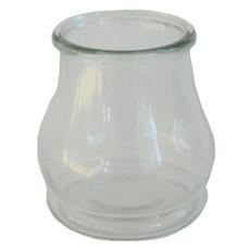 Glasvase aus Pressglas