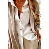 Bypias Stella Cardigan, beige, Größe S/M von Bypias