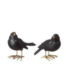 Wikholmform Bird Mix, 2 Stck.in weiß oder schwarz