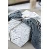 IB Laursen Geschenkpapier als Meterware, blau Blossom von IB Laursen