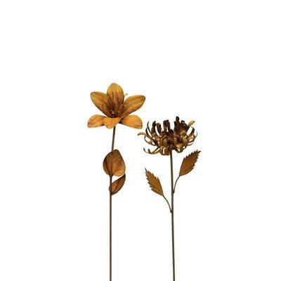 Blüte am Stab, 2 verschiedene Modelle