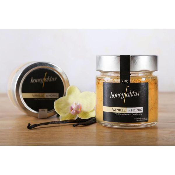 Vanille in Honig - Honigspezialitäten von honeyfaktur