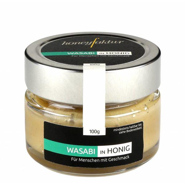 Wasabi in Honig - Honigspezialitäten von honeyfaktur