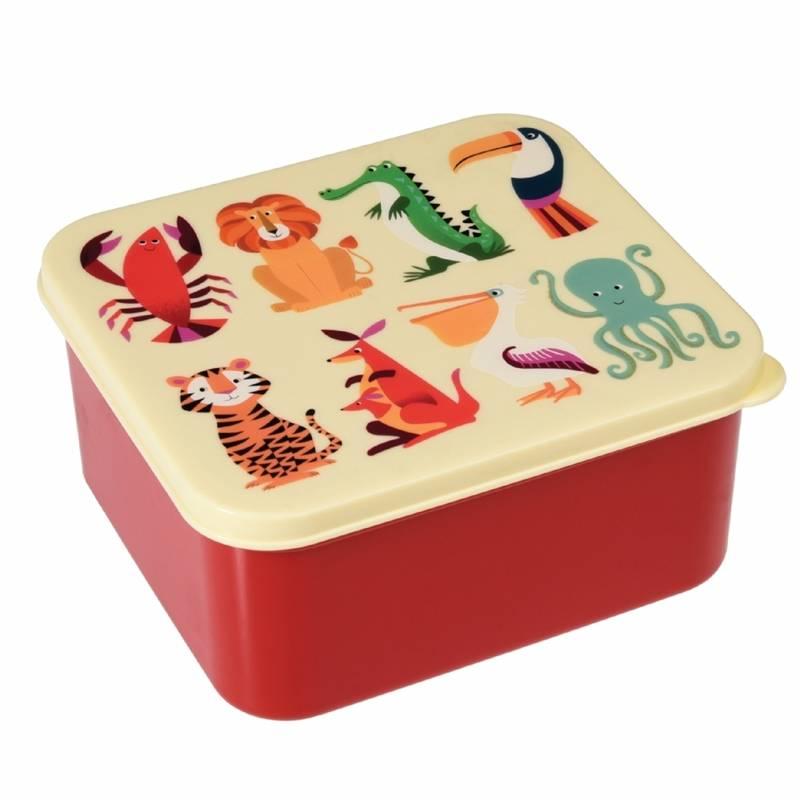 Rex London Lunchtrommel Colourful Creatures