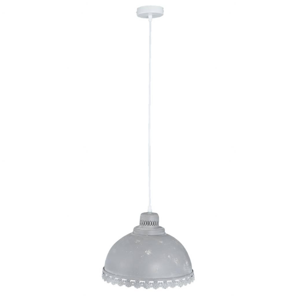 Clayre & Eef Hanglamp Donkergrijs