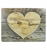 Mars & More Placemat hart hout Set/4